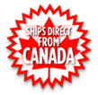 Ships directly from Canada!